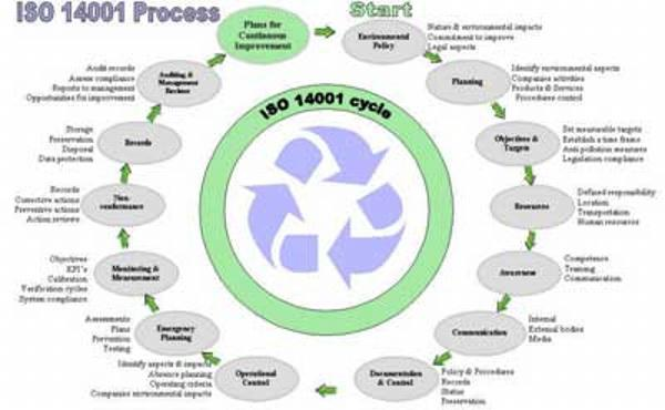 what are the requirements for iso 14001 certification